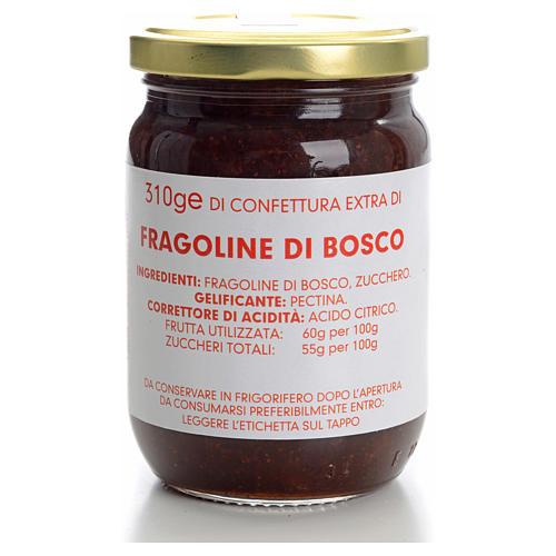 Confettura fragoline di bosco 310 gr Monastero Carmelitane 1