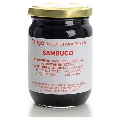 Confiture de sureau 310 g Carmélites 1