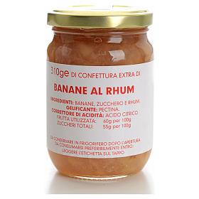 Confettura banane al rhum 310 gr Monastero Carmelitane s1
