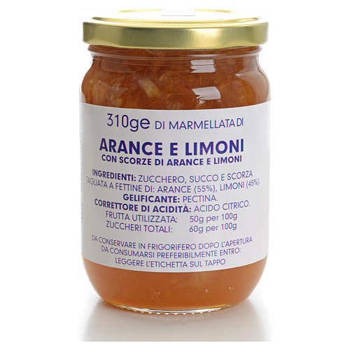 Orange and lemon marmalade of the Carmelites monastery 310g