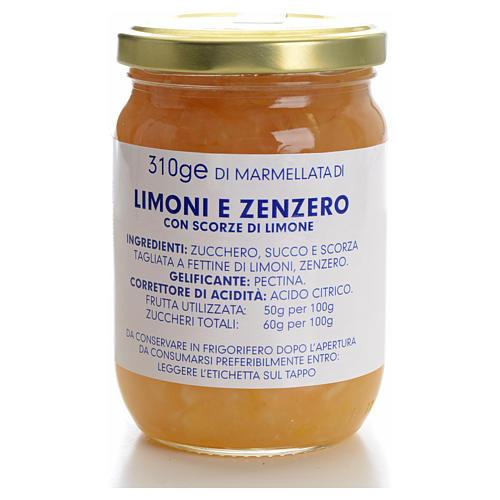 Marmellata limoni e zenzero 310 gr Monastero Carmelitane 1