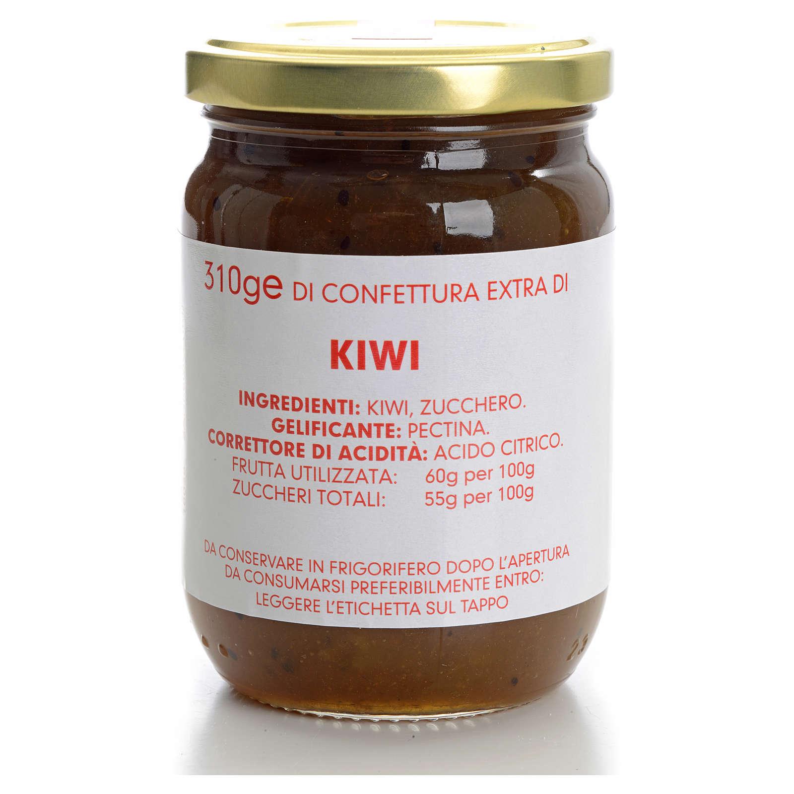 Confettura kiwi 310 gr Monastero Carmelitane 3