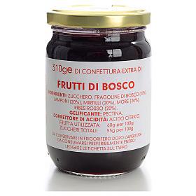 Confettura frutti di bosco 310 gr Monastero Carmelitane s1