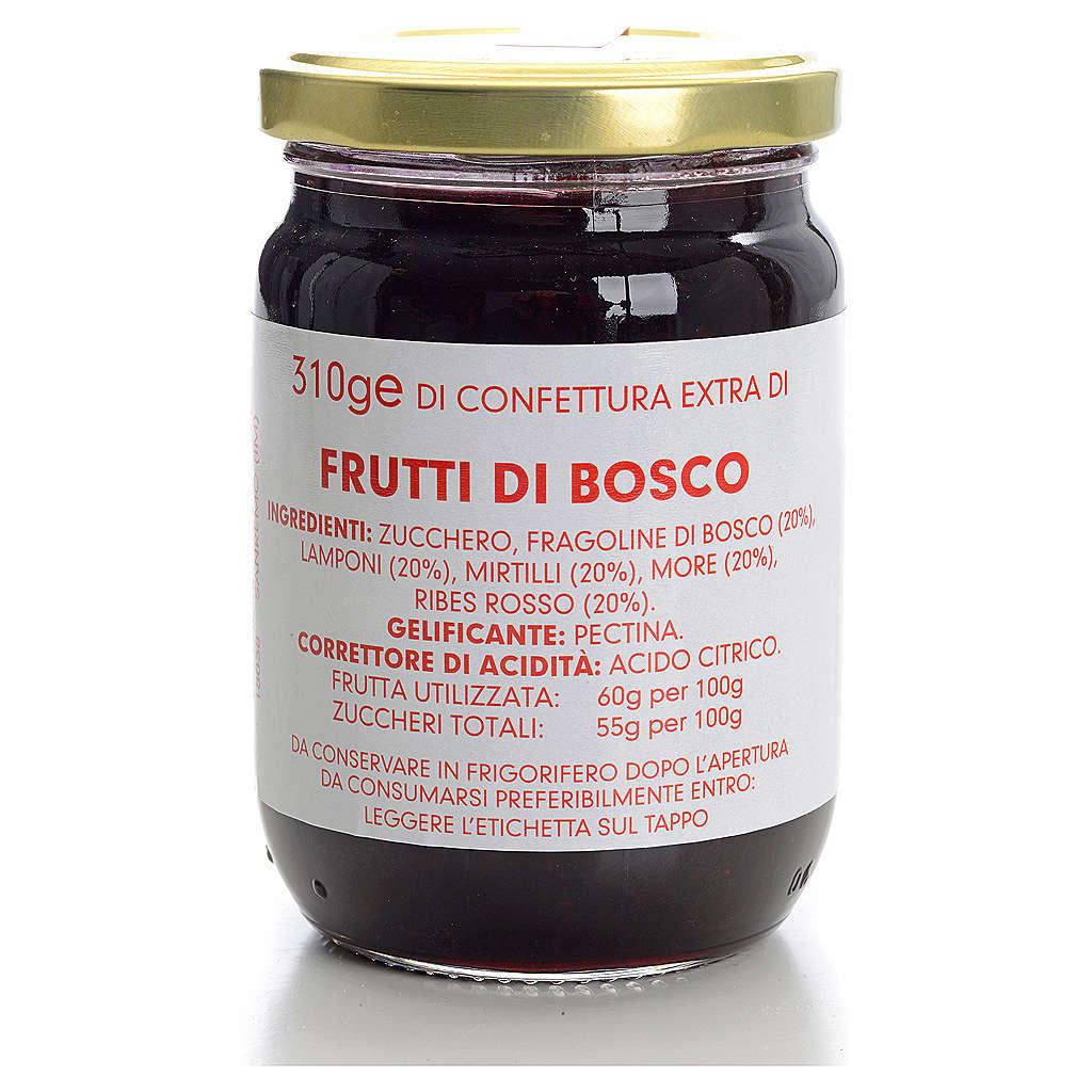 Mixed soft fruits jam of the Carmelites monastery 310g 3