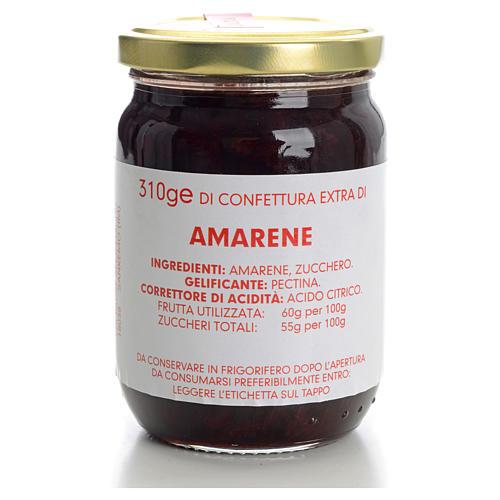 Sour black cherry jam of the Carmelites monastery 310g