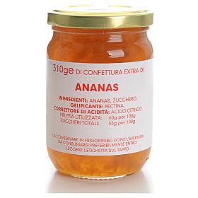 Confettura ananas 310 gr Monastero Carmelitane s1