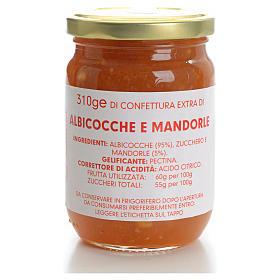 Confettura albicocche e mandorle 310 gr Monastero Carmelitane s1