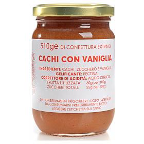 Confettura cachi con vaniglia 310 gr Monastero Carmelitane s1