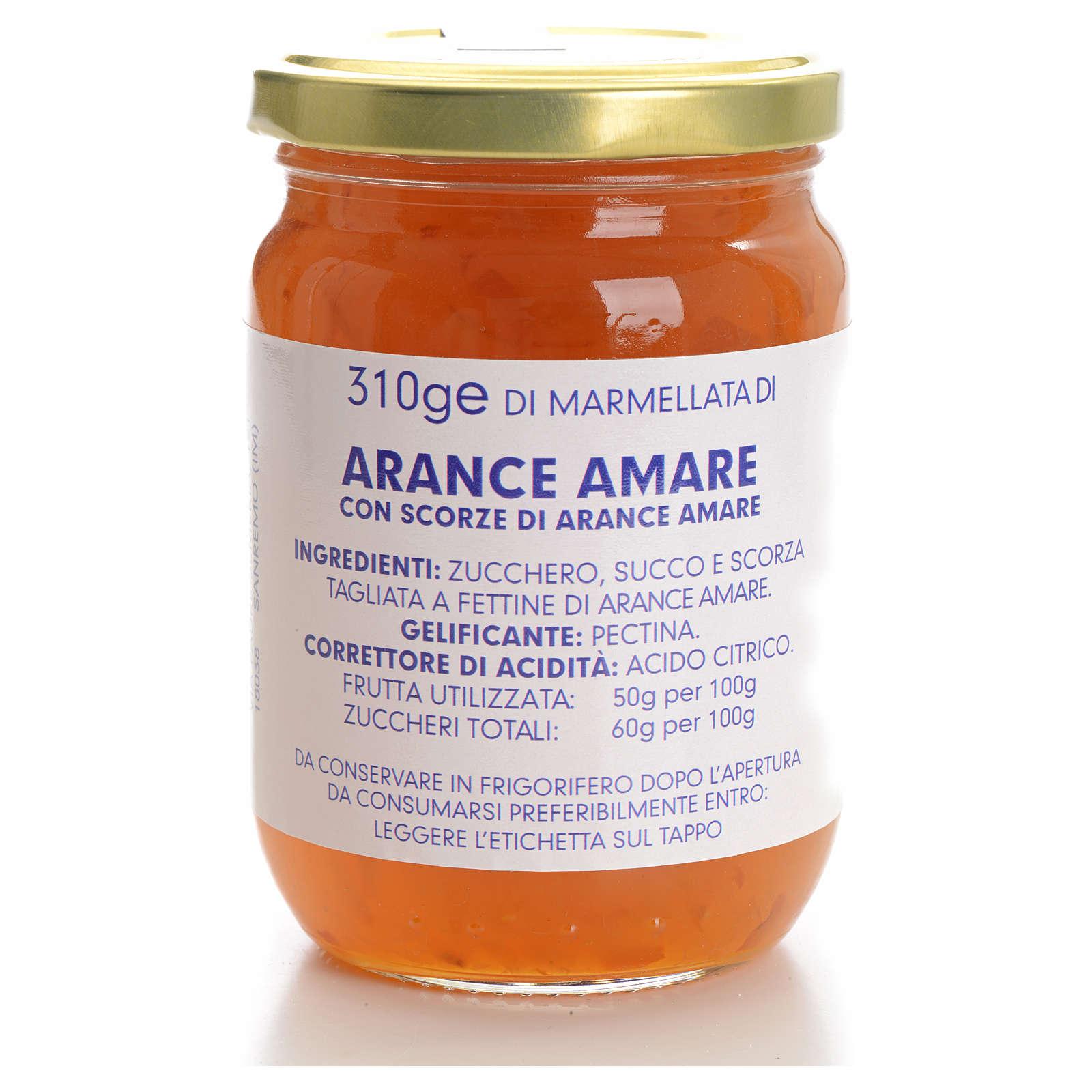 Marmellata arance amare 310 gr Monastero Carmelitane 3