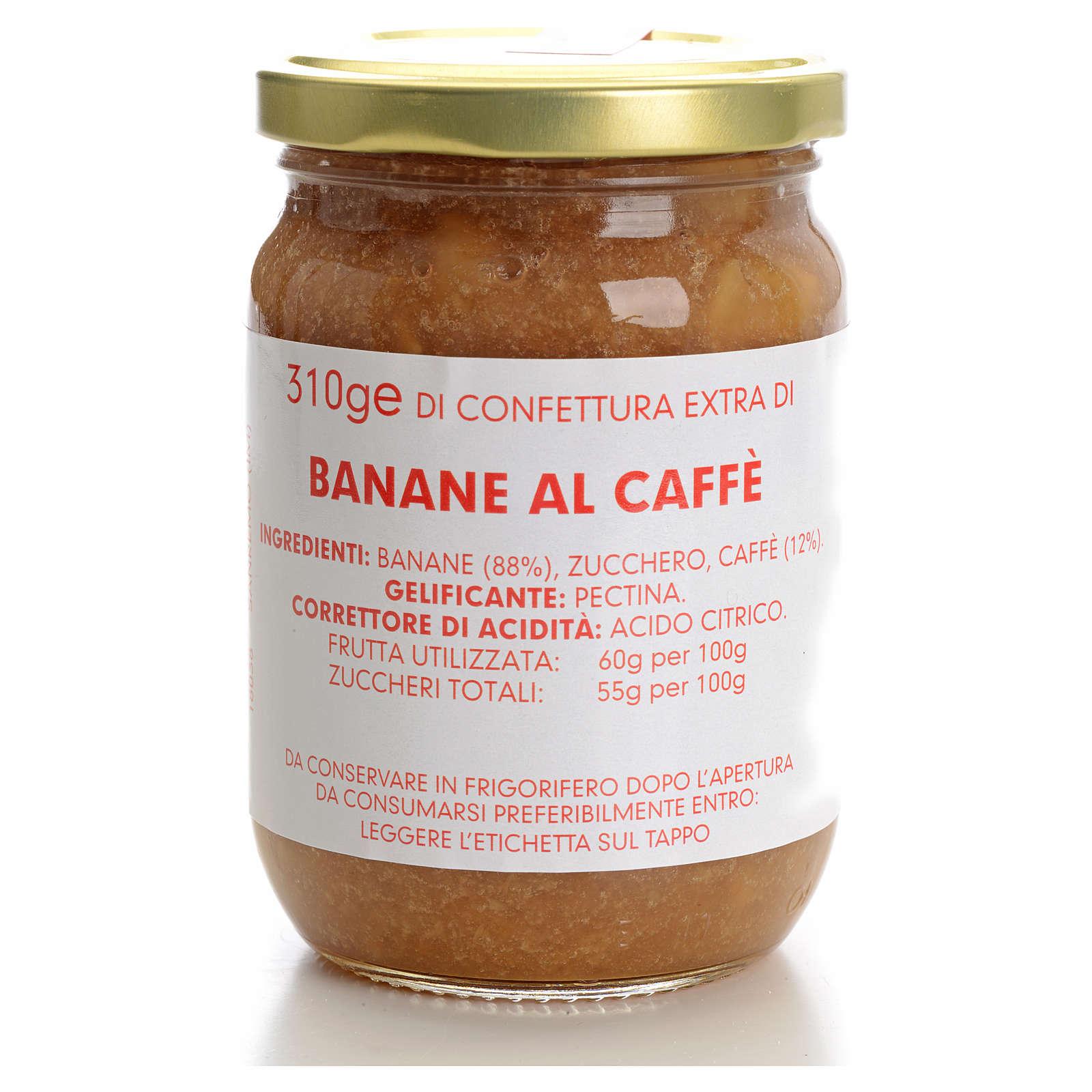 Confettura banane al caffè 310 gr Monastero Carmelitane 3