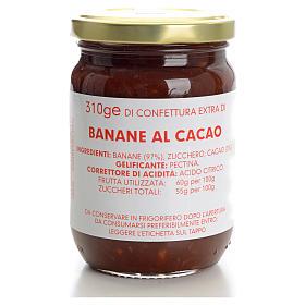Confettura banane al cacao 310 gr Monastero Carmelitane s1