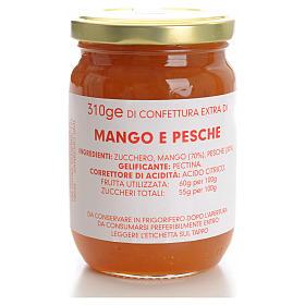 Confettura mango e pesche 310 gr Monastero Carmelitane s1