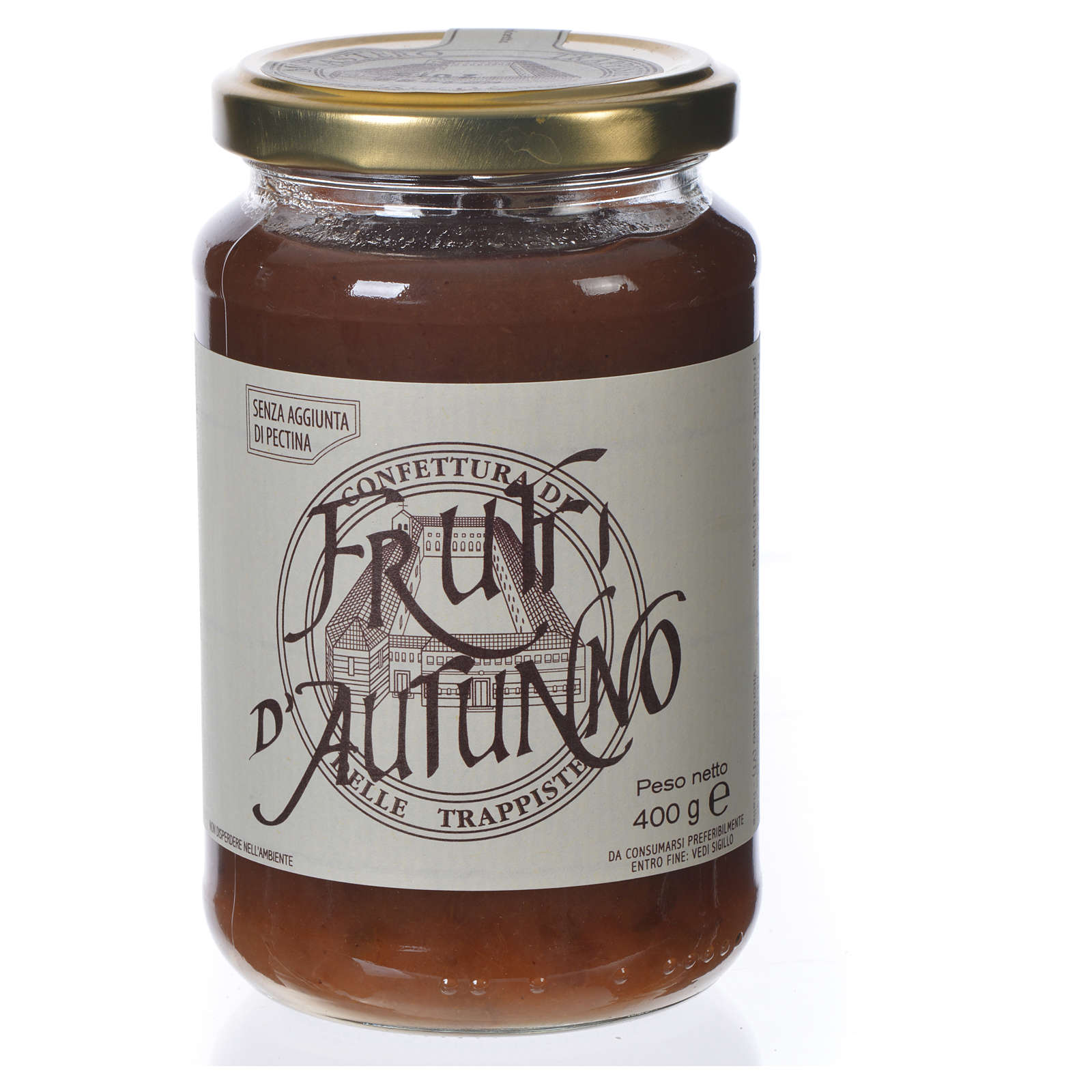 Confiture Fruits d'Automne 400gr Trappistines Vitorchiano 3