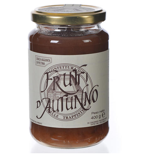 Confiture Fruits d'Automne 400gr Trappistines Vitorchiano 1