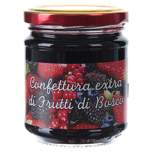 220gr extra wild berry jam of St. Anthony of Padua 1