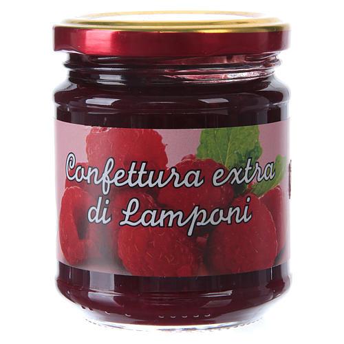 Confettura extra di lamponi 220 g  di Sant'Antonio di Padova 1