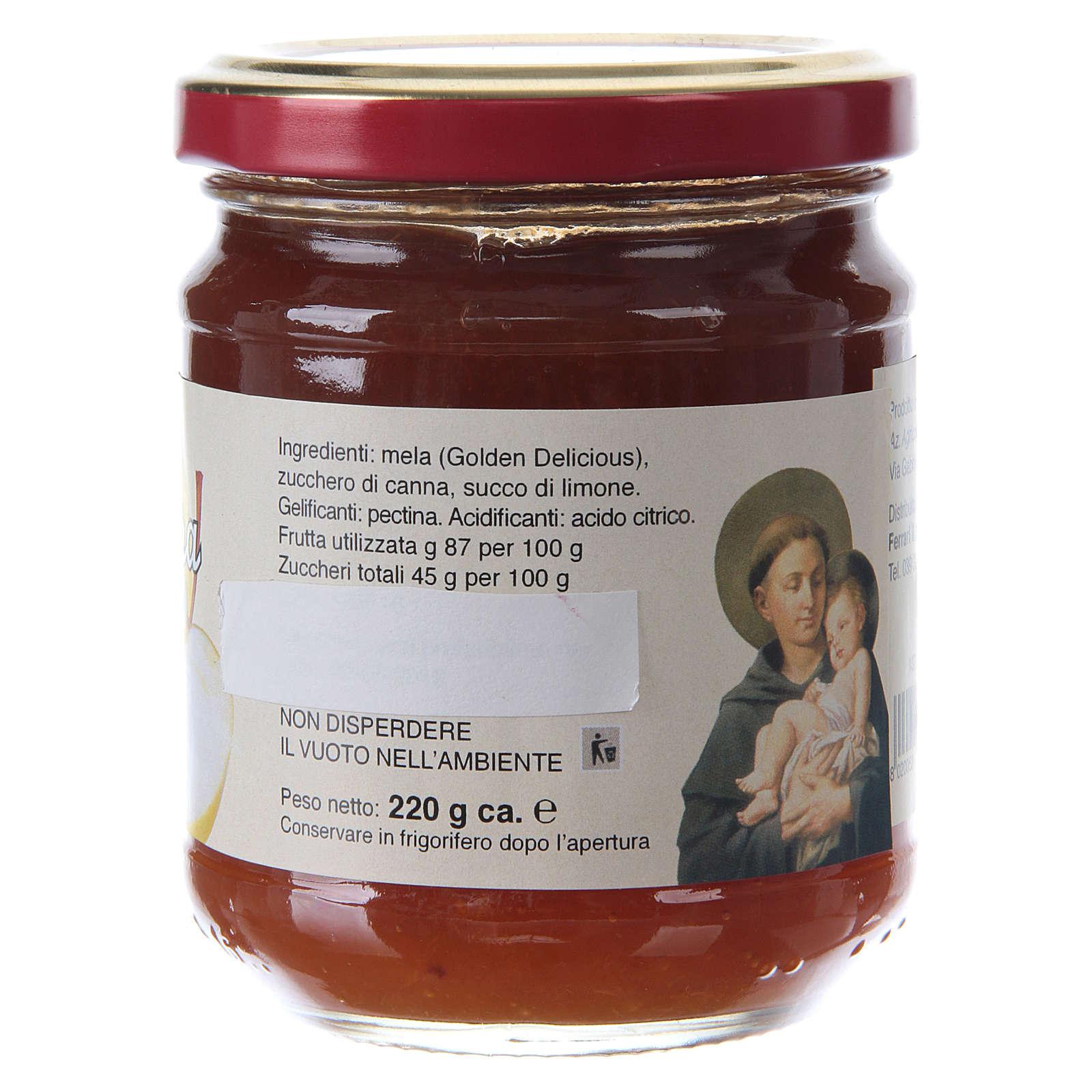 Confiture extra aux Pommes 220 g de Saint Antoine de Padoue 3