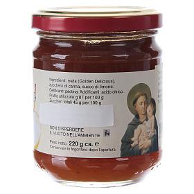 Confiture extra aux Pommes 220 g de Saint Antoine de Padoue s2