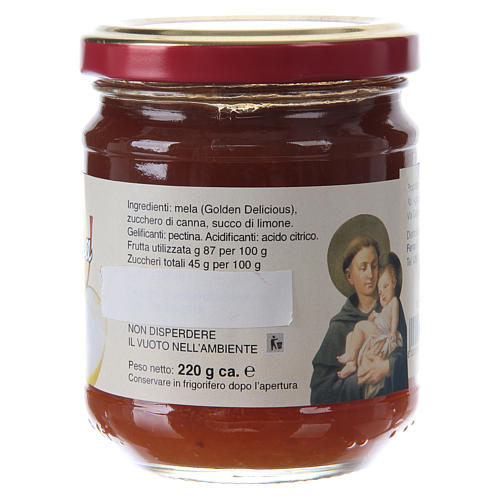 Confiture extra aux Pommes 220 g de Saint Antoine de Padoue 2