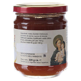Confettura extra di mela 220 g  di Sant'Antonio di Padova s2