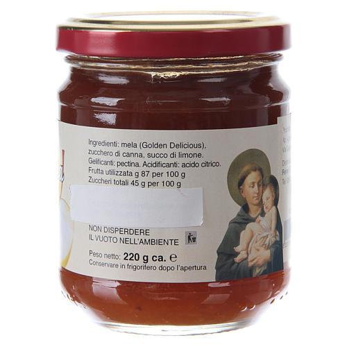 Confettura extra di mela 220 g  di Sant'Antonio di Padova 2
