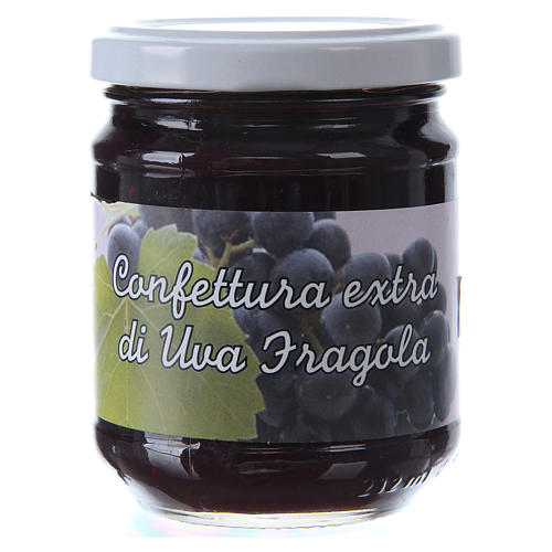 220gr extra Isabella grape jam of St. Anthony of Padua 1