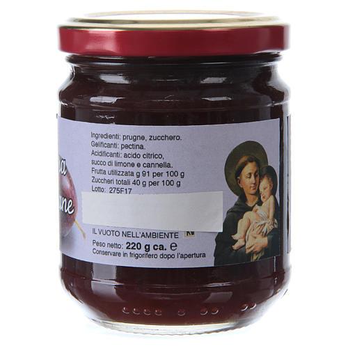 220gr extra peach jam of St. Anthony of Padua 2
