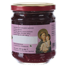 220gr extra pomegranate jam of St. Anthony of Padua s2