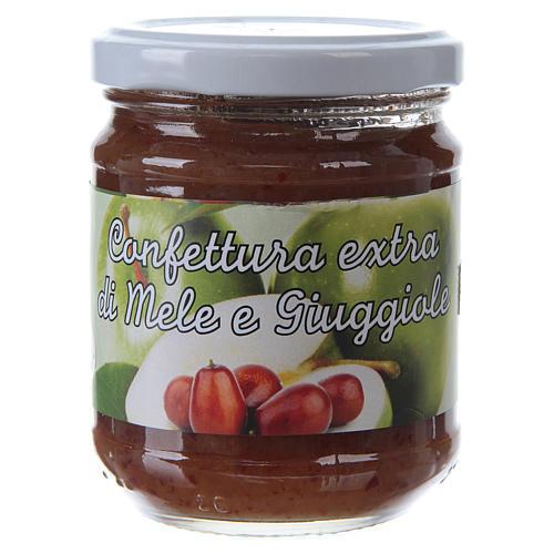 Confiture extra aux Pommes et aux Jujubes 220 g de Saint Antoine de Padoue 1