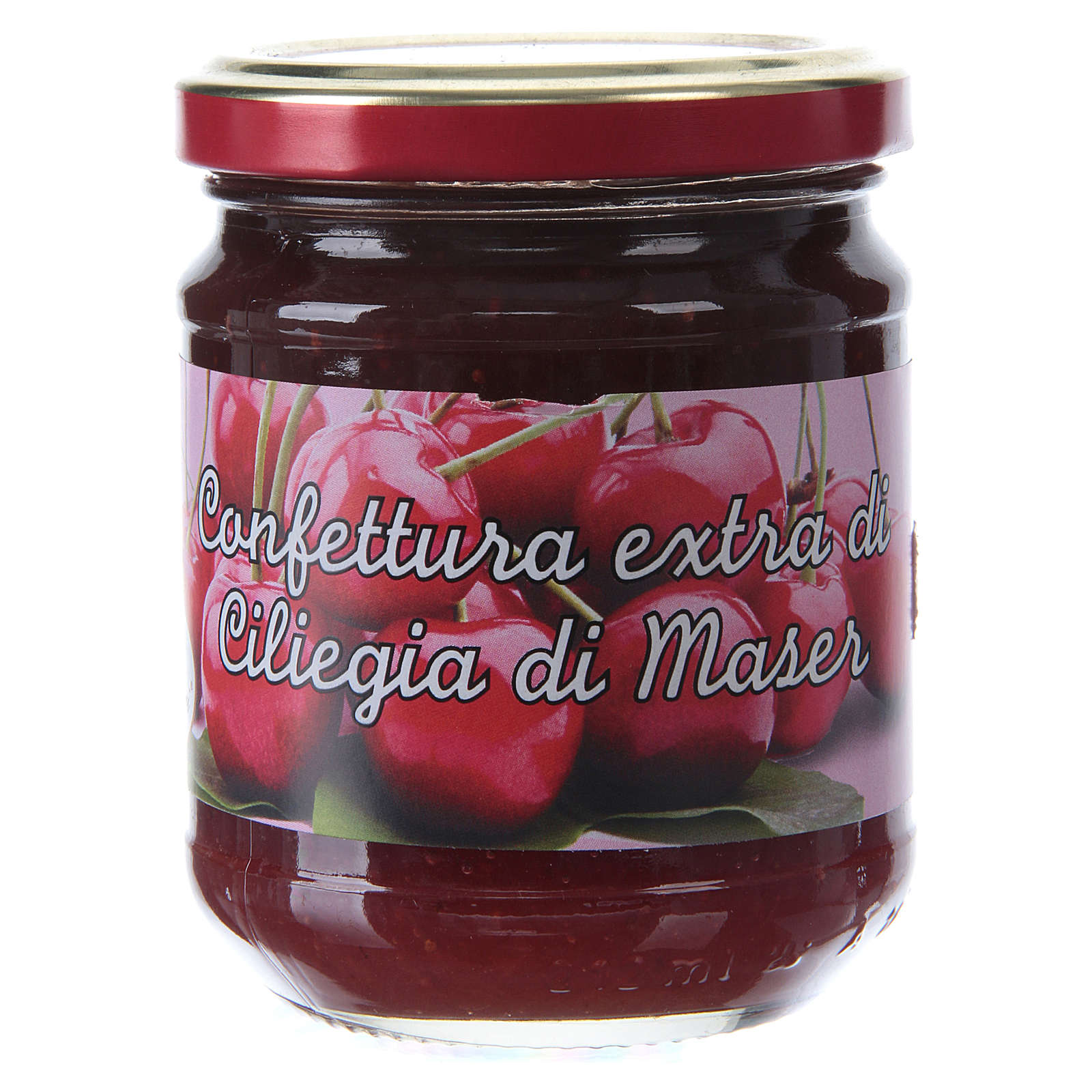 220gr extra Maser cherry jam of St. Anthony of Padua 3