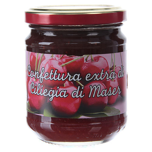 220gr extra Maser cherry jam of St. Anthony of Padua 1