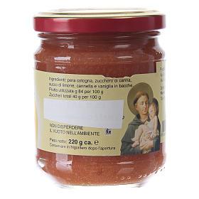 Confettura extra di pere cotogne 220 g  di Sant'Antonio di Padova s2