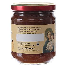 Confettura extra di pesca nostrana 220 g  di Sant'Antonio di Padova s2