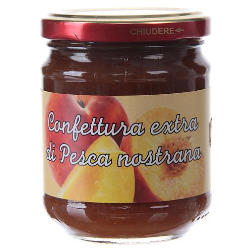 Confettura extra di pesca nostrana 220 g  di Sant'Antonio di Padova 1