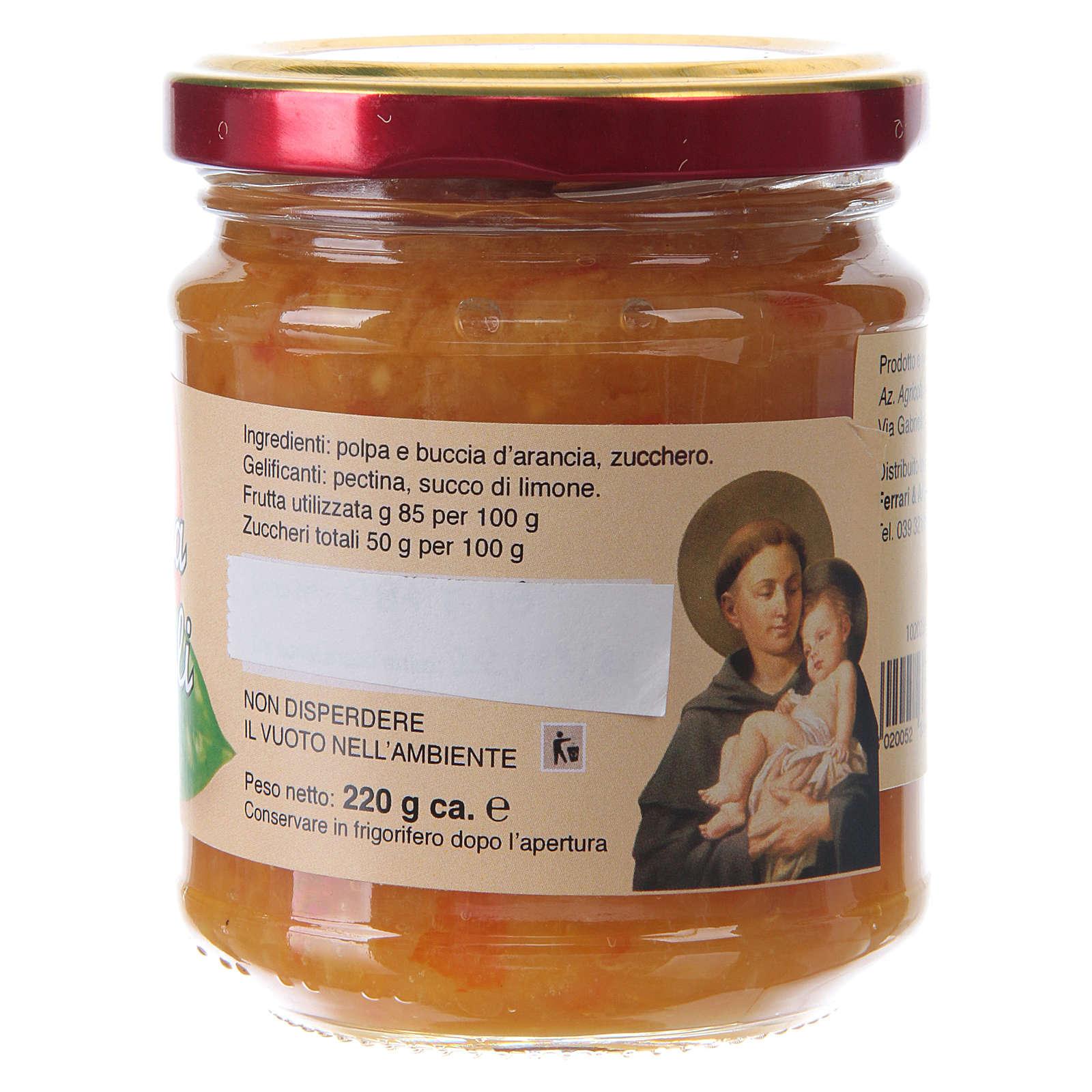 Marmellata extra di arance naturali 220 g  di Sant'Antonio di Padova 3