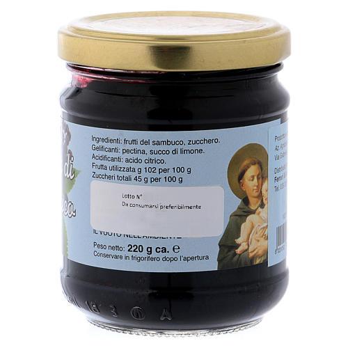 Confiture fruits de Sureau Saint Antoine de Padoue 220 g 2