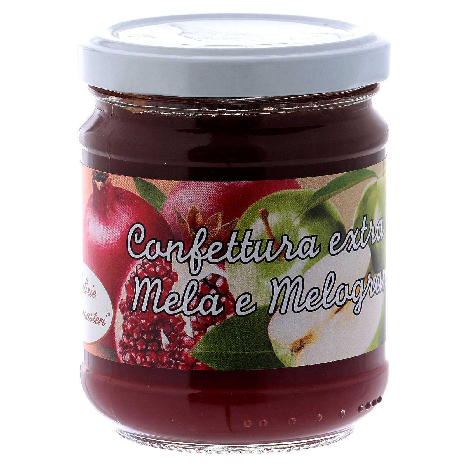 Confettura extra di mela e melograno 220 g di Sant'Antonio da Padova 3