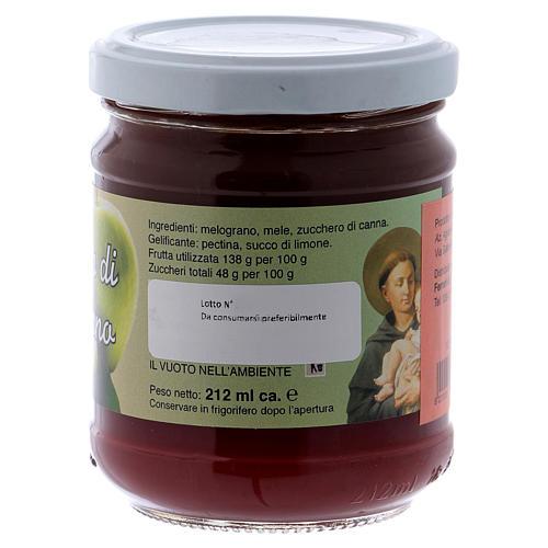 Confettura extra di mela e melograno 220 g di Sant'Antonio da Padova 2