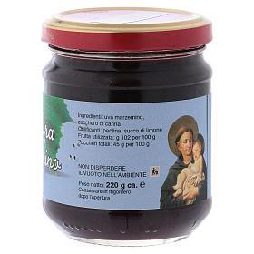 Confiture extra de raisin Marzemino 220 g Saint Antoine de Padoue s2