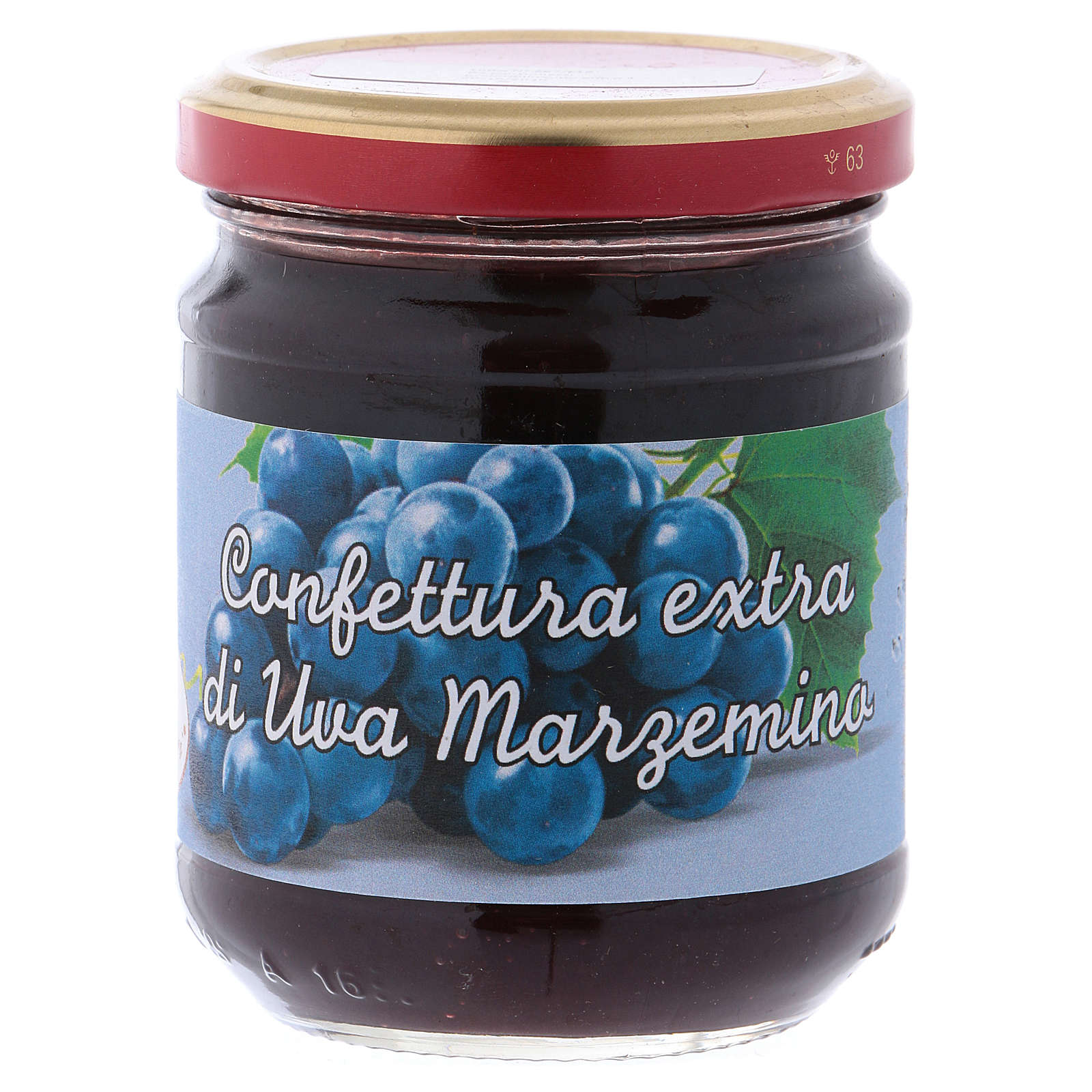 Confettura extra di Uva Marzemino 220 g di Sant'Antonio di Padova 3