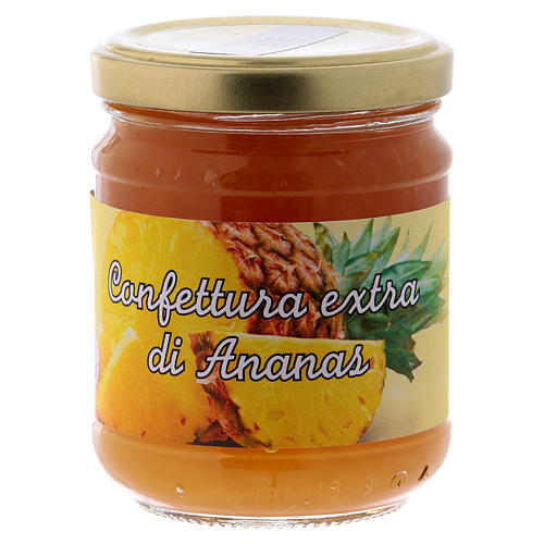 220gr extra pineapple jam of St. Anthony of Padua 1