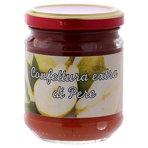 220gr extra pear jam of St. Anthony of Padua 1