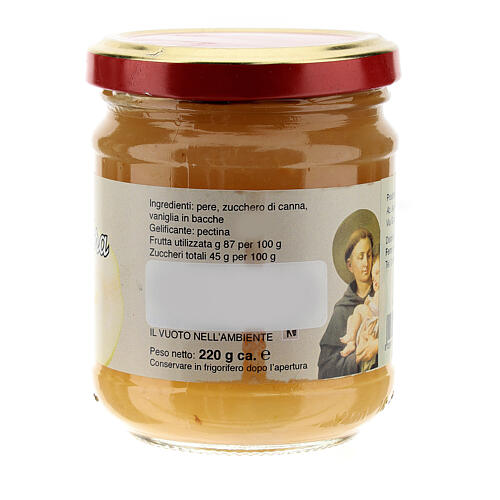 220gr extra pear jam of St. Anthony of Padua 2