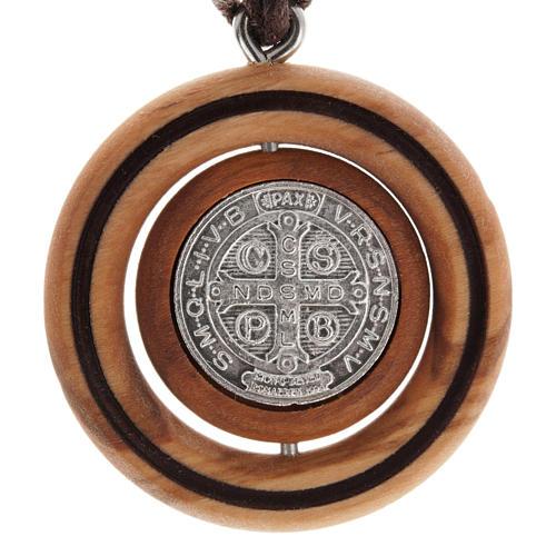Medalla San Benito Olivo 2