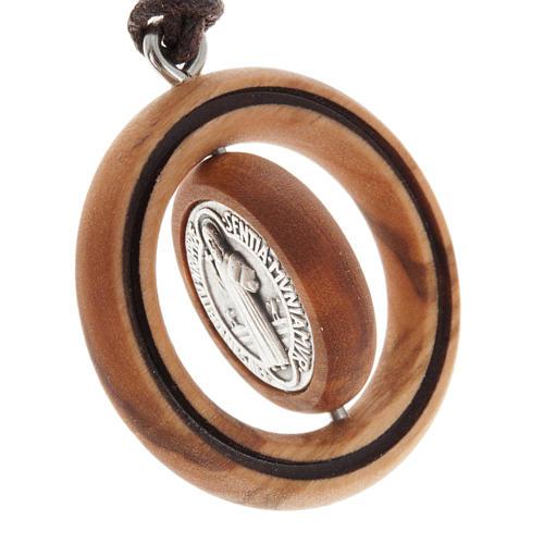 Médaille S. Benoît , olivier 3