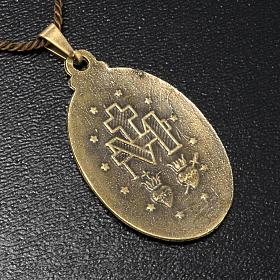 Médaille Miraculeuse pendentif couleur bronze s2