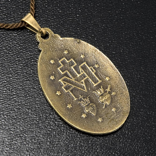 Médaille Miraculeuse pendentif couleur bronze 2