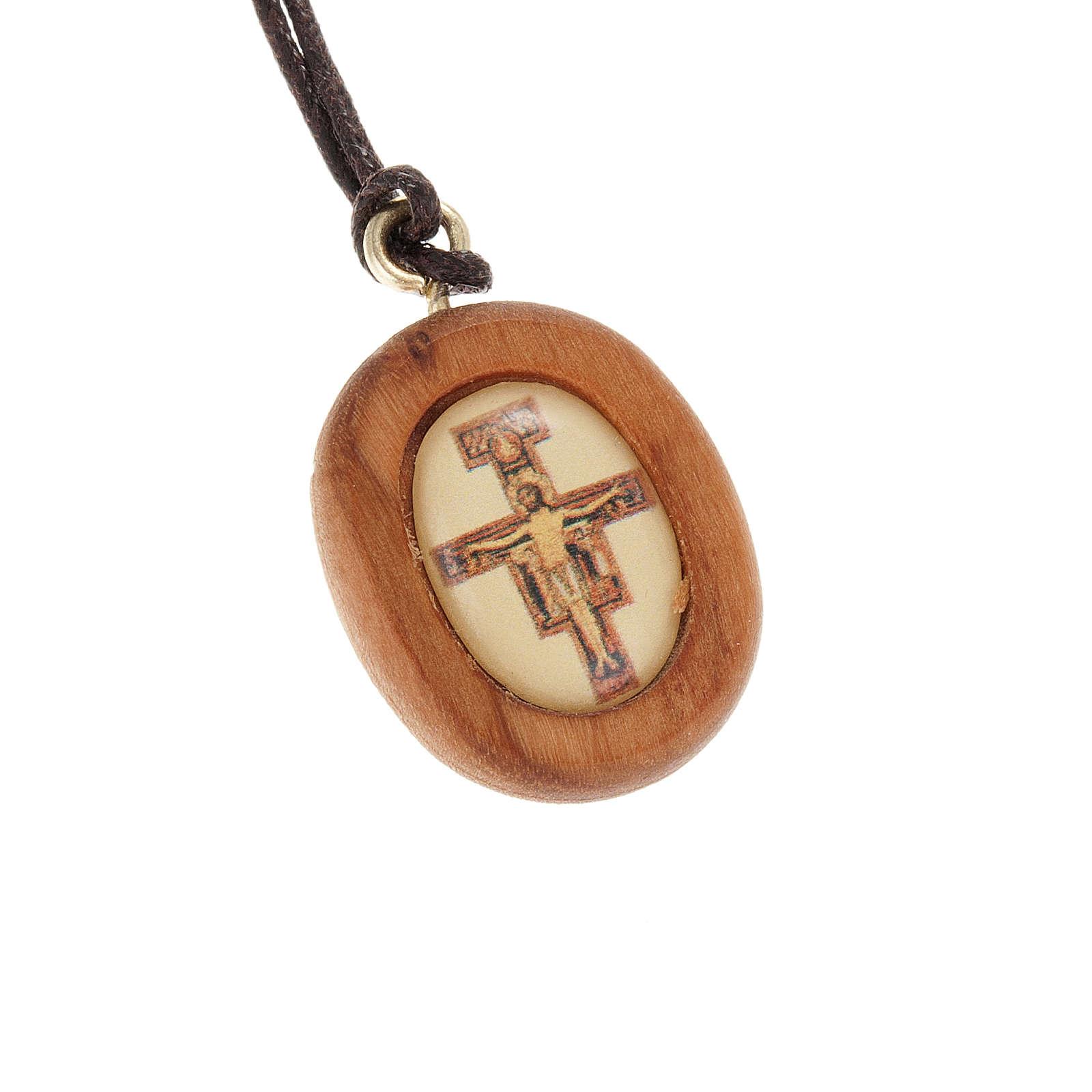 Medaglia olivo croce San Damiano immagine 4