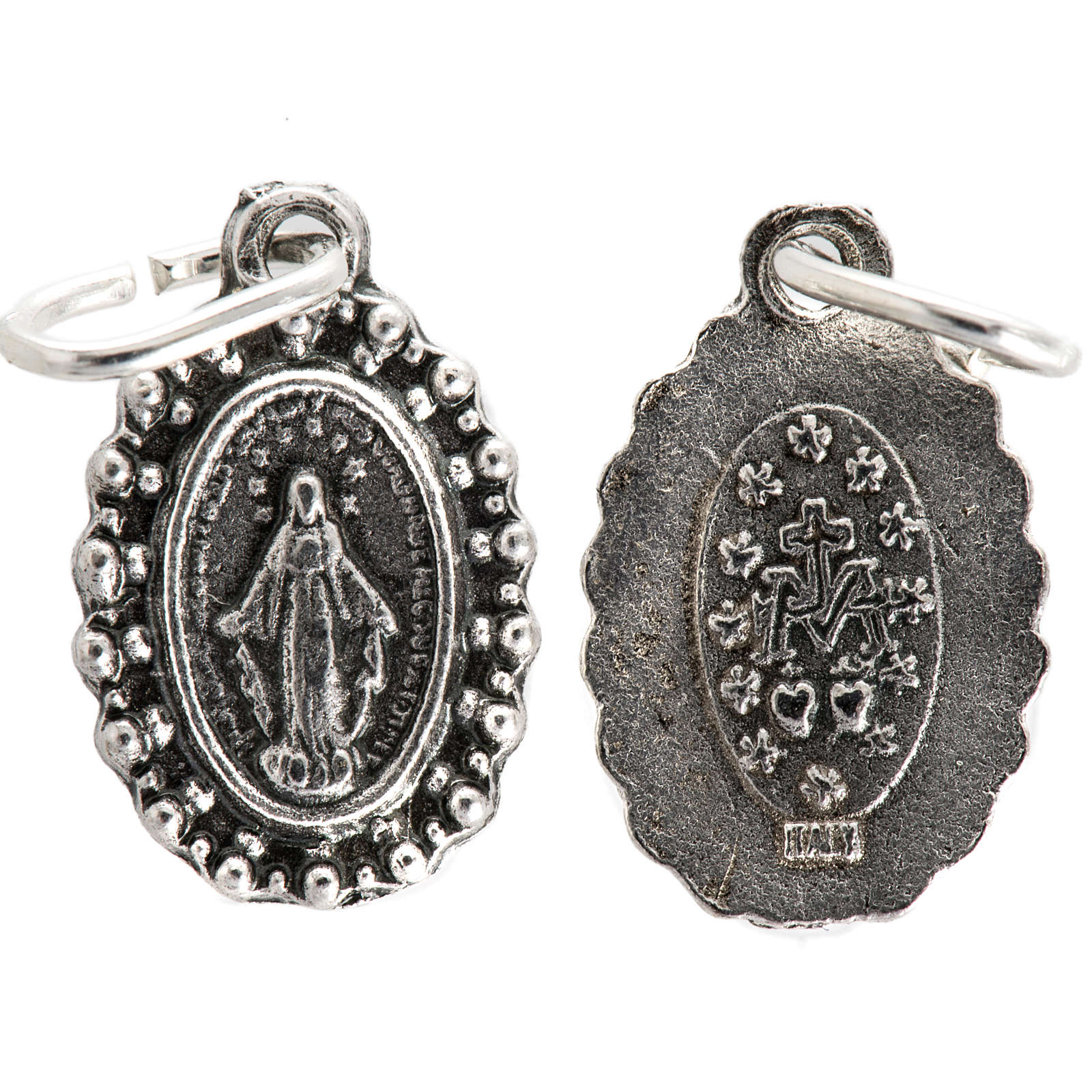 Médaille Vierge Miraculeuse métal 14mm 4