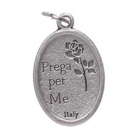 Médaille de dévotion St Christophe ovale 20mm s2